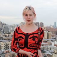 Scout LaRue Willis attends the BAM and Paddle8 cocktail reception celebrating BAM's 150th anniversary and BAMart benefit auction at The Standard East Village on April 11, 2012 in New York City.