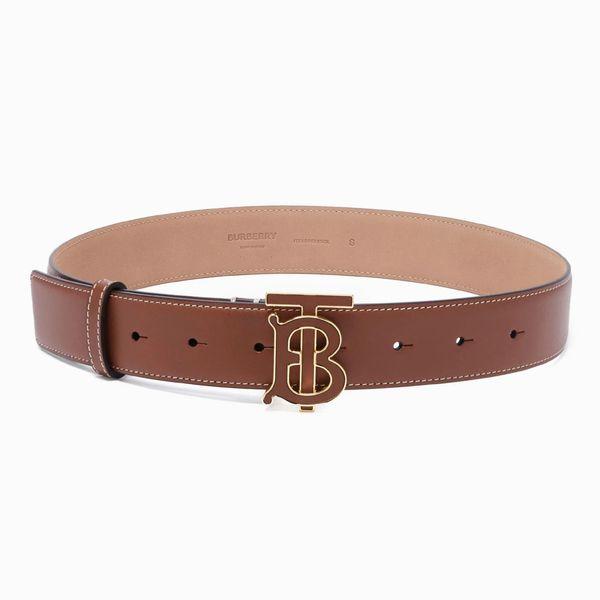 Burberry TB-Buckle Leather Belt