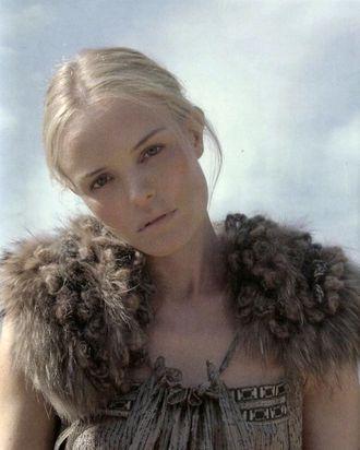 Kate Bosworth for Vanessa Bruno.