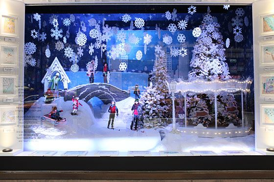 Lord and Taylor windows