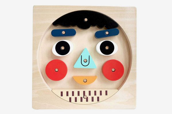 Leo and Friends Wooden Puzzles - Face Emotion Toys for Kids