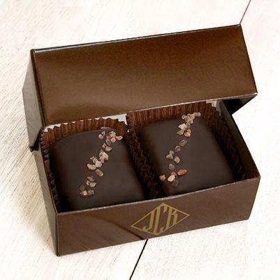 John Kelly Chocolates 2 Piece Peanut Butter with Himalayan Pink Salt