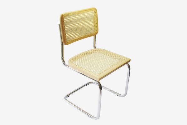 cane chrome chair