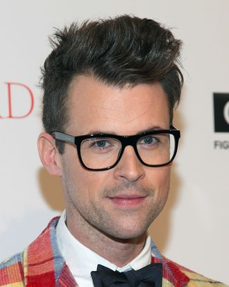NEW YORK, NY - NOVEMBER 17: Brad Goreski attends the Fashion Forward benefiting the gay men's health crisis at the Metropolitan Pavilion on November 17, 2011 in New York City. (Photo by Taylor Hill/Getty Images)
