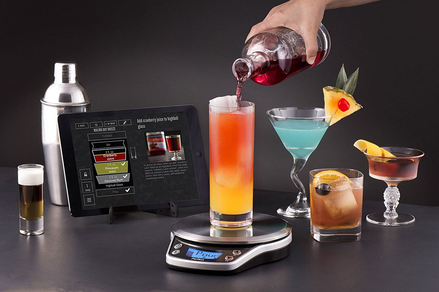 Perfect Drink PRO Smart Scale- strategist best smart kitchen appliances