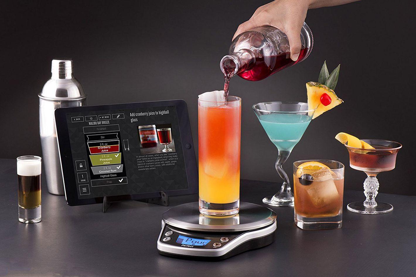 Perfect Drink PRO Smart Scale- strategist best smart kitchen appliances