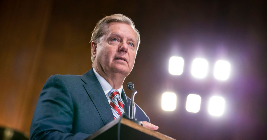 Lindsey Graham: 'I Don't Care' if Migrants Stay in Overcrowded Detention Centers for '400 Days'