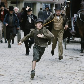 BARNEY CLARK stars as OLIVER in Roman Polanski's OLIVER TWIST