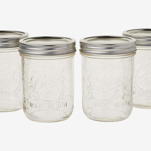 Ball Mason Jar, 16-Ounces (Set of 4)