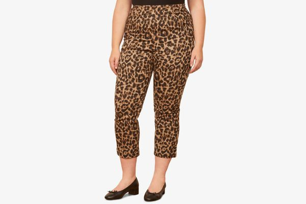 Reformation Marlon Leopard Pants