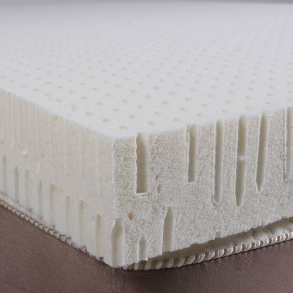 PlushBeds Natural Latex Topper, Queen
