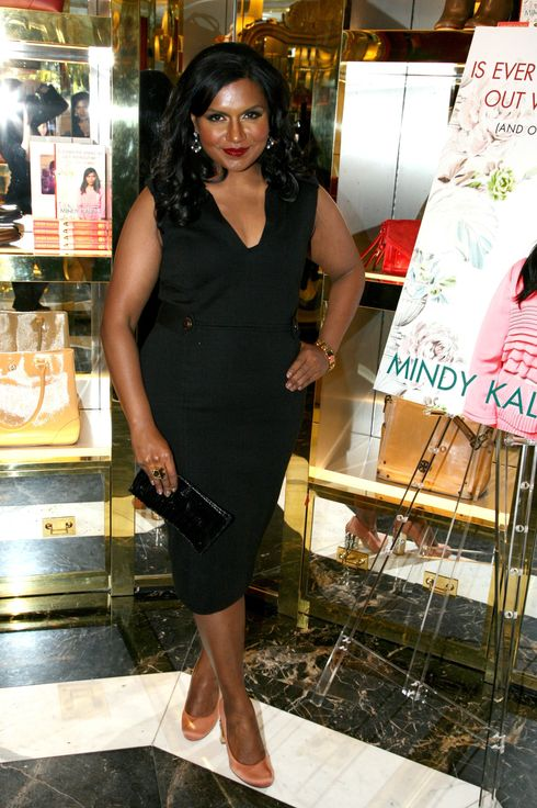 "Mindy Kaling==TORY BURCH celebrates ""Is Everyone Hanging Out Without Me?"" a new book by MINDY KALING==Tory Burch Flagship, 797 Madison Ave., NYC==November 01, 2011==? Patrick McMullan==Photo - AMBER De VOS/ PatrickMcMullan.com== =="