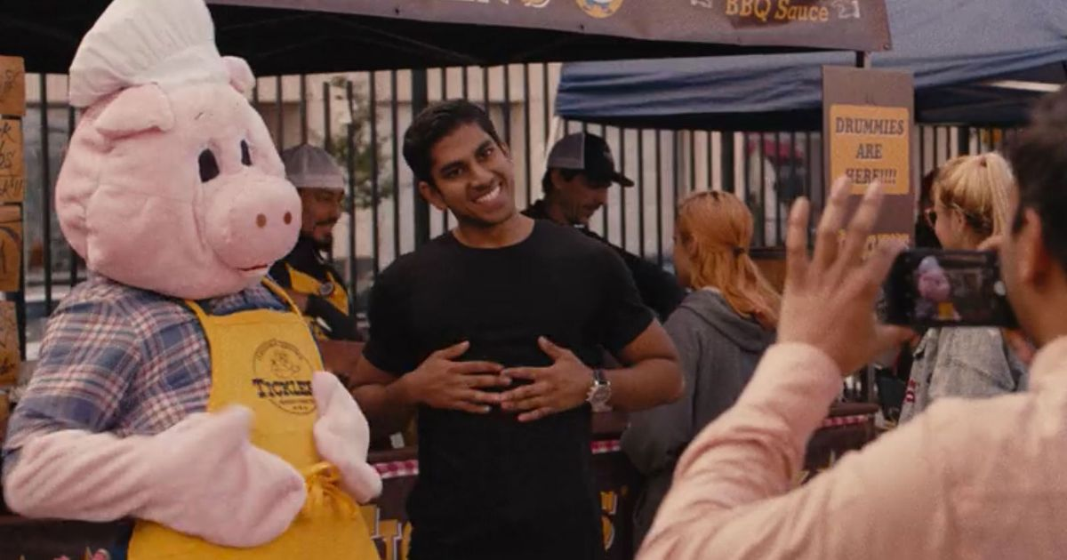 Aziz Ansari's Formerly Chubby Cousin Harris Plays His Buff Cousin in MON