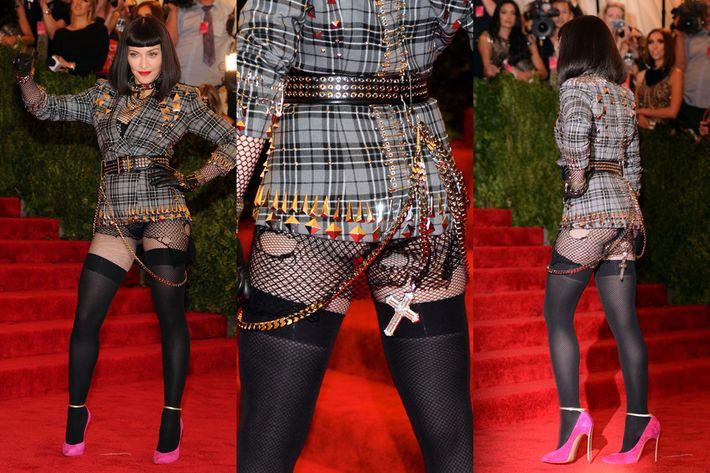 Madonna's butt.