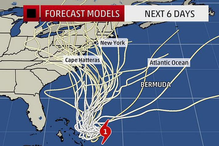 Hurricane Joaquin Is Heading for the East Coast — and Maybe