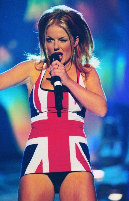 Photo 15 from Geri Halliwell's Union Jack Dress