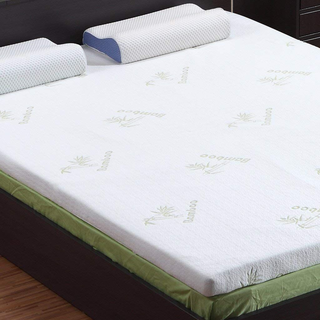 Langria 3-Inch Gel-Infused Memory Foam Mattress Topper