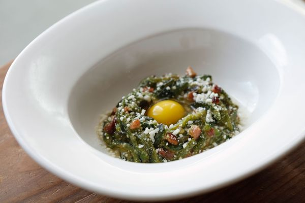 Cómodo's New Menu Includes This Awesome Poblano-Pepper Carbonara