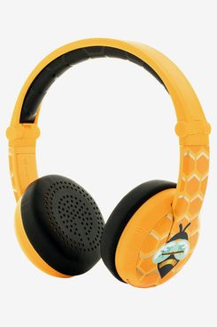 BuddyPhones Wave Waterproof Wireless Bluetooth Volume-Limiting Kids' Headphones