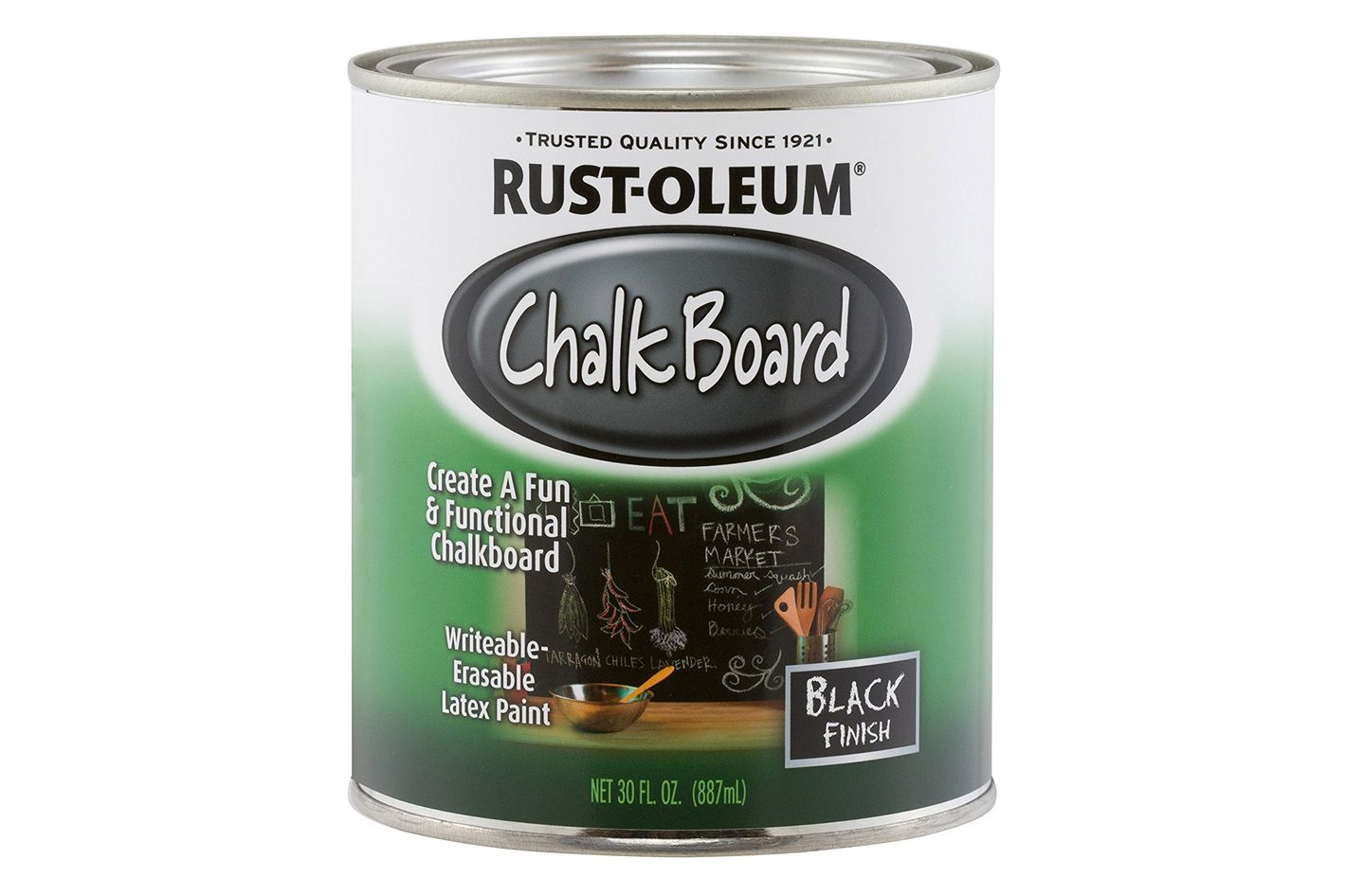 Chalkboard Brush-On