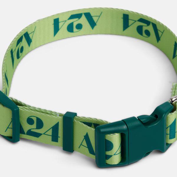 A24 Lime Logo Collar
