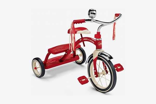 Radio Flyer, Classic Red Dual Deck Tricycle
