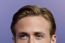 Actor RYAN GOSLING arrives for 'The Ides of March' premiere at the Academy theater, Beverly Hills, California.