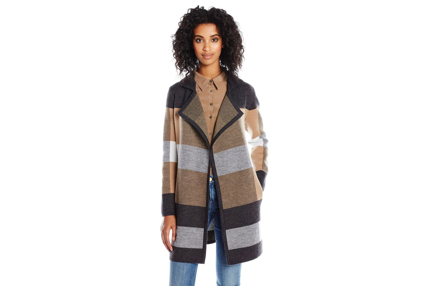 Pendleton Women's Plaid Cardi Sweater