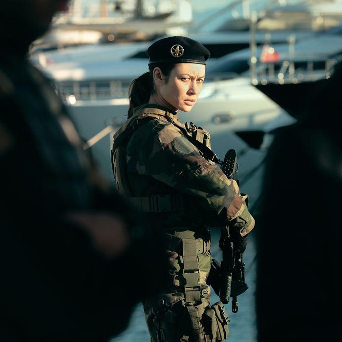 Olga Kurylenko in Sentinelle.