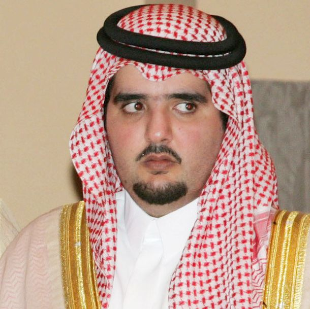 Prince Abdul Aziz bin Fahd, in more formal dress