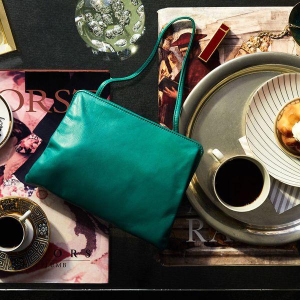 3wilder3 Chiclette Bag in Emerald