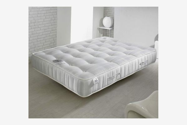 Happy Beds Super Ortho Medium Firm Tension Mattress with Reflex Foam - Small Double (120x190cm)