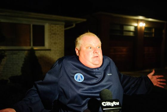 21 Things Worth Knowing About Rob Ford -- Daily Intelligencer