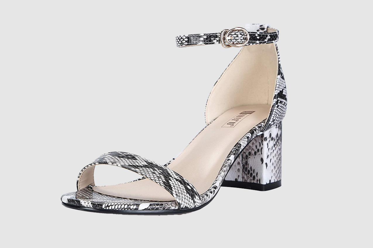 IDIFU Women's IN2 Cookie-LO Low Heel Ankle Strap Dress Pump Sandal