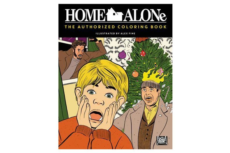 Home Alone: The Authorized Coloring Book
