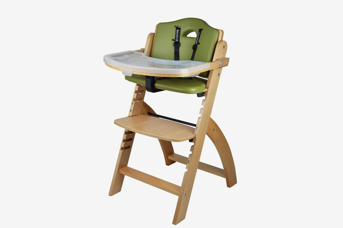 Abiie Beyond Wooden High Chair With Tray 32c032a1b