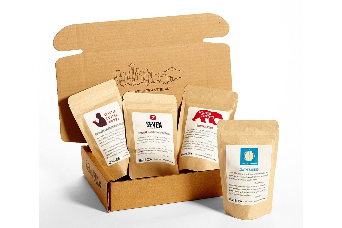 Bean Box Gourmet Coffee Sampler