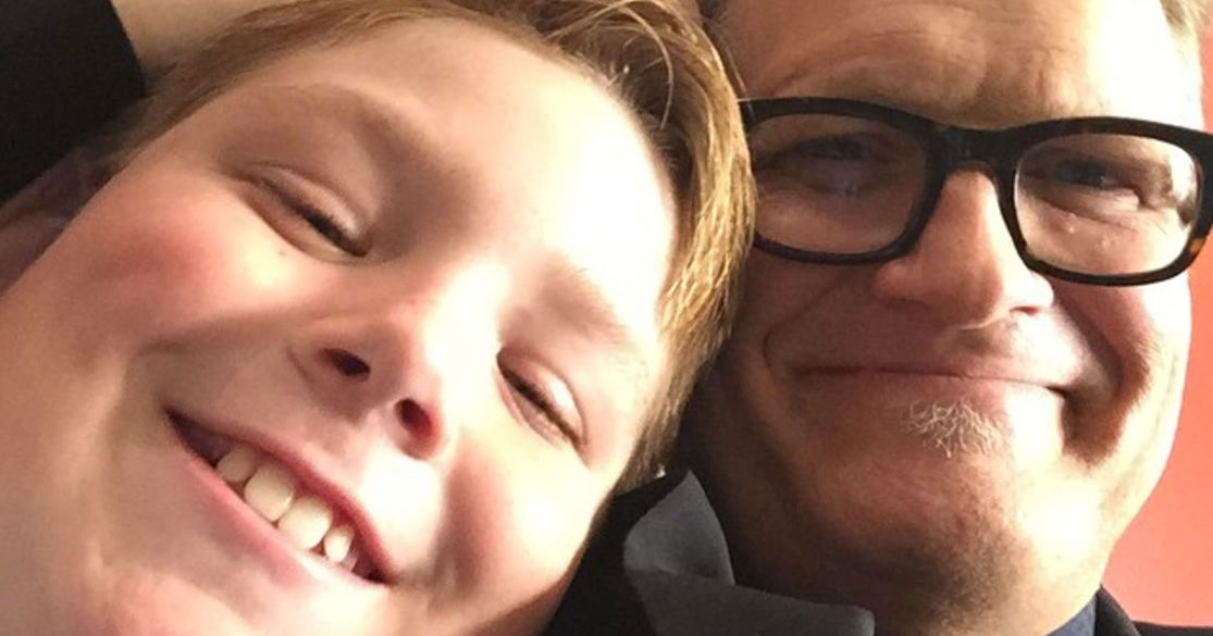 Drew carey 39 s son started fire at inauguration protest for H s bains sons
