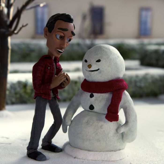 Abed (Danny Pudi) in stop-motion.