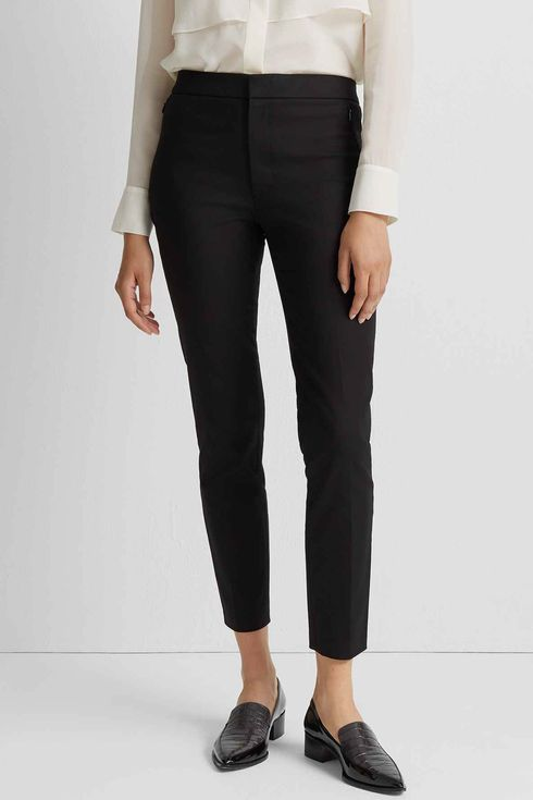 Elegant Comfortable Black Stretch Pants