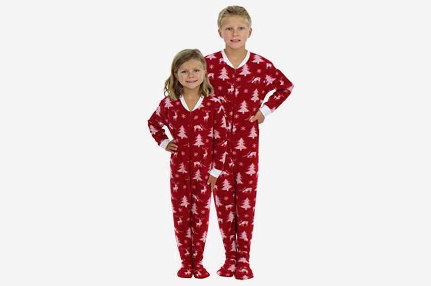 aa62d8e1ca SleepytimePjs Kid s Sleepwear Fleece Onesie
