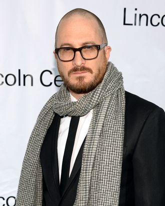 Darren Aronofsky attends the Great American Songbook event honoring Bryan Lourd at Alice Tully Hall on February 10, 2014 in New York City.