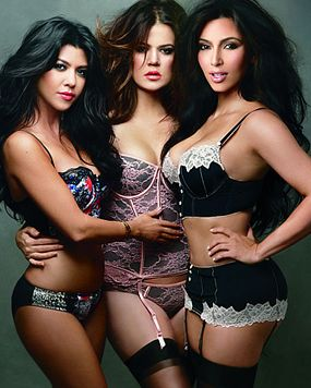 The Kardashians' cccampaign.