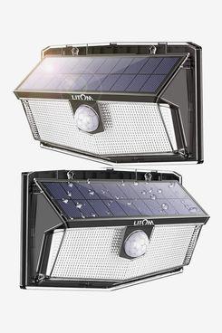Litom Solar Motion-Sensor Lights