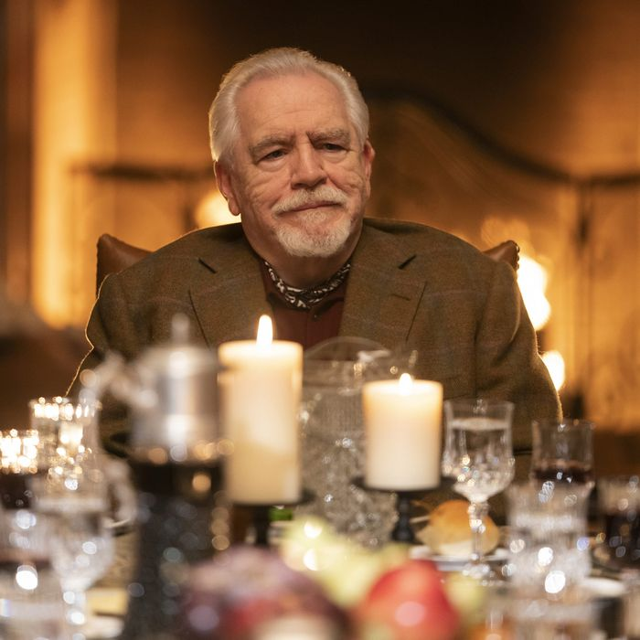Brian Cox as Logan Roy in <em>Succession.</em>