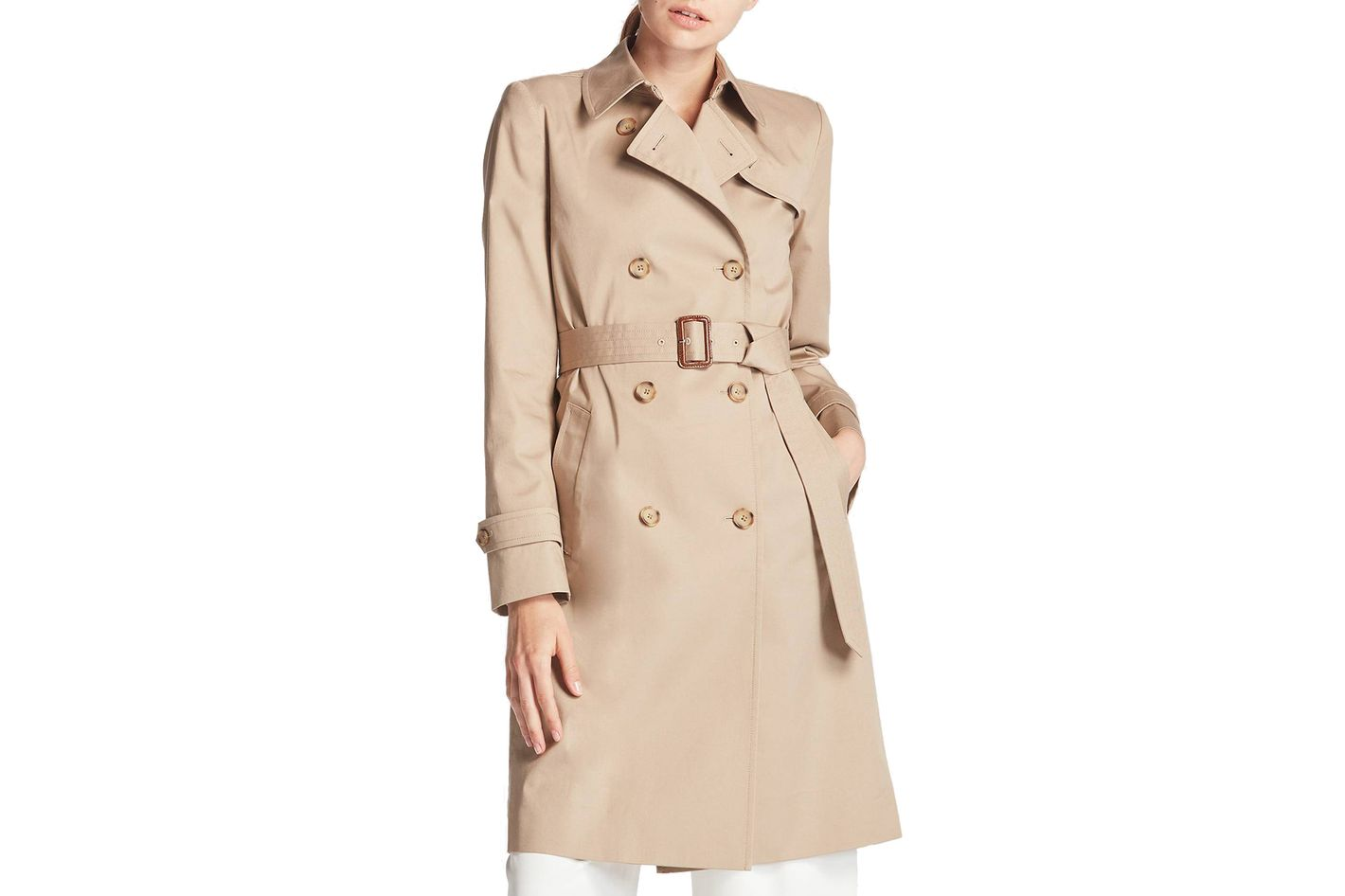 Uniqlo trench coat