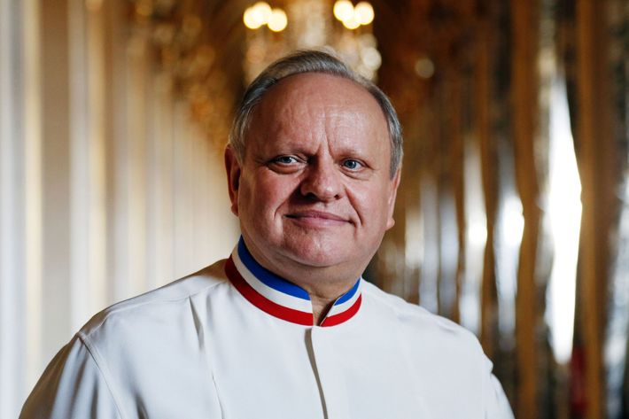 Welcome Back Photo Francois Guillot Afp Getty Images Joel Robuchon