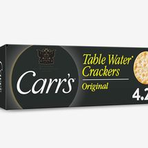 Carr's Table Water Crackers, Original (Pack of 6)