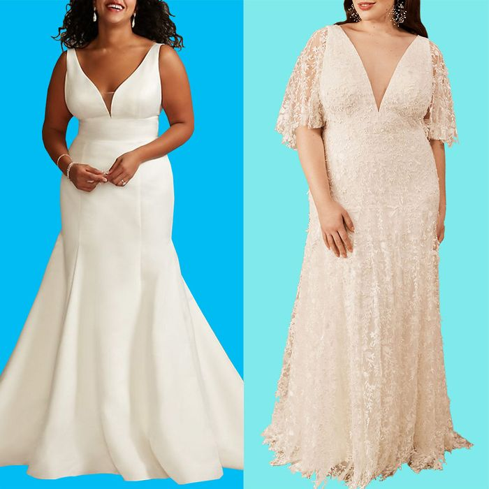 How To Shop For A Plus Size Wedding Dress Online The Strategist New York Magazine