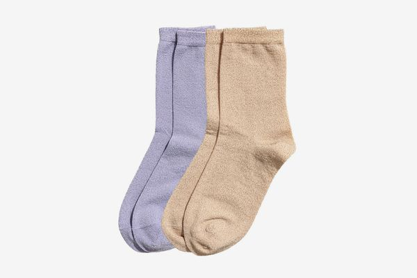 H&M Two-pack Glittery Socks